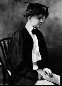 Helen Keller laurea